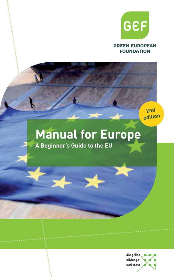 "Front cover of the publication ""Manual for Europe"""