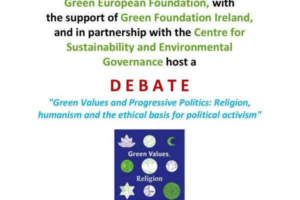 green-foundation-ireland-Belfast Debate Poster