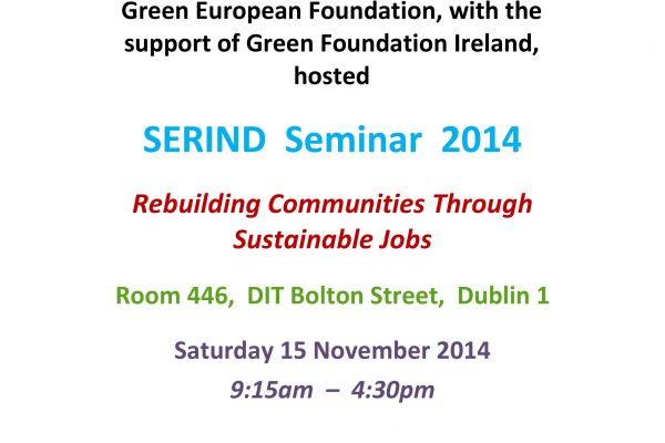 green-foundation-ireland-Green-foundation-Sustainable-jobs-seminar-poster