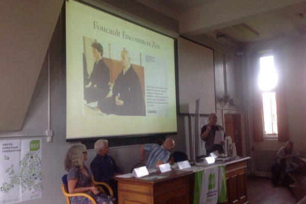 green-foundation-ireland-Peter-Doran-speaking