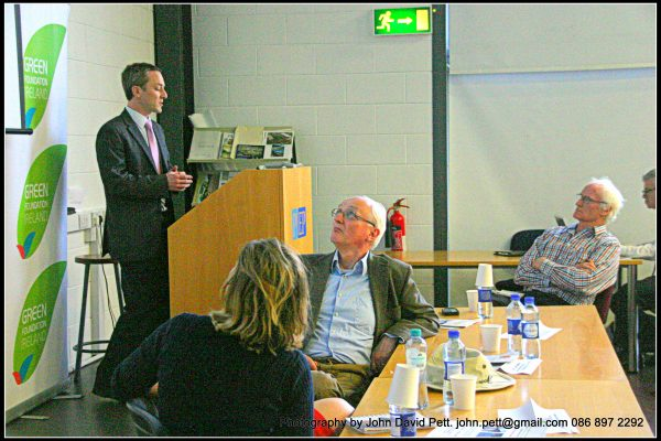 green-foundation-ireland-man-presenting