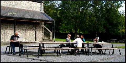 green-foundation-ireland-people-on-bench