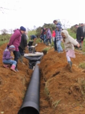 green-foundation-ireland-pipe-in-trench