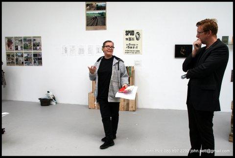 green-foundation-ireland-presentation-in-gallery