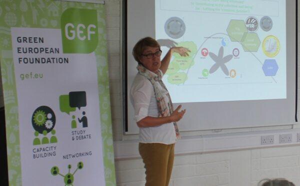 green-foundation-ireland-presenter-showing-slide