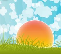green-foundation-ireland-sun-illustration