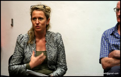 green-foundation-ireland-woman-answering