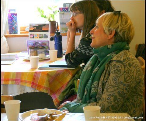 green-foundation-ireland-woman-listening
