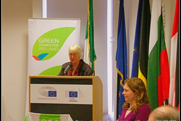 green-foundation-ireland-woman-presenting