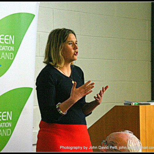 green-foundation-ireland-woman-speaking