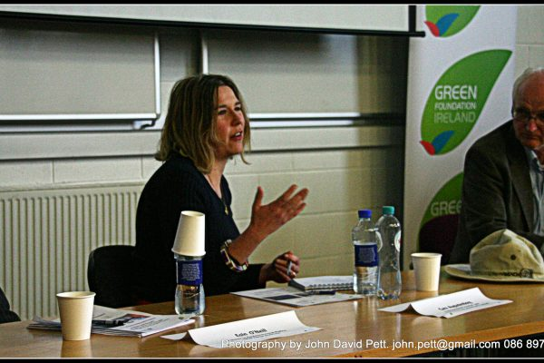 green-foundation-ireland-woman-talking