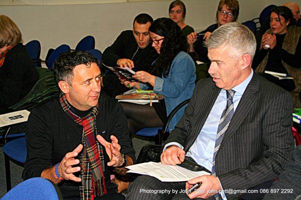 green-foundation-ireland-audience-talking